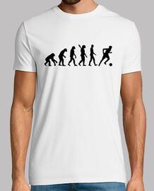 jugador de fútbol evolución