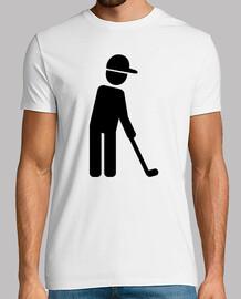 jugador de golf icono