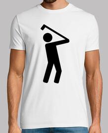 jugador de golf símbolo