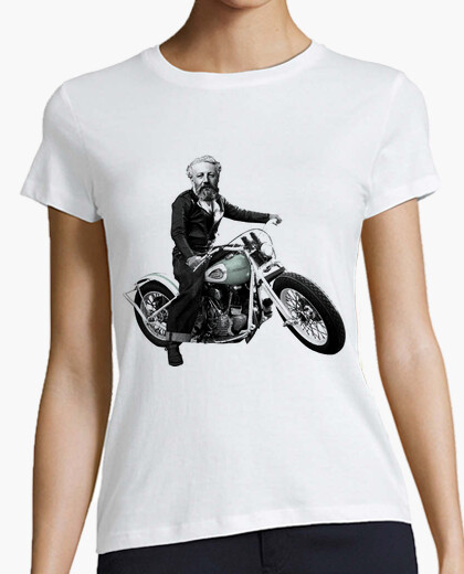Camiseta Julio Verne, mola