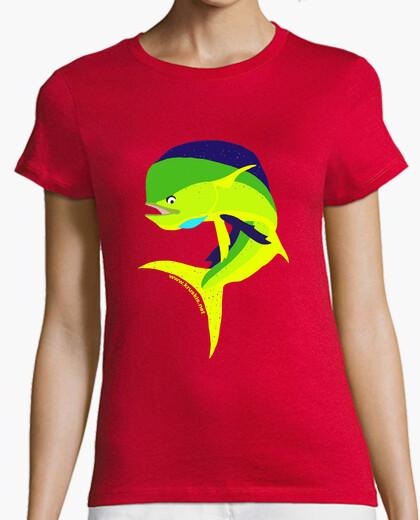 Camiseta jumping dorado woman