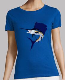 jumping woman sailfish