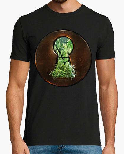 Tee-shirt jungle lock / nature / ecologie