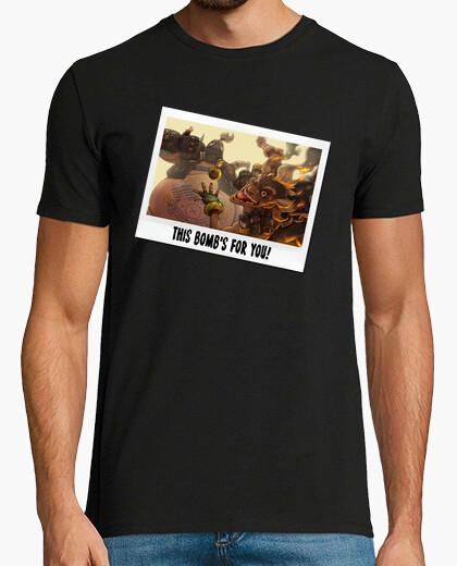 Camiseta Junkrat y Roadhog