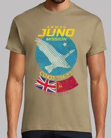 Juno Soyuz TM-12 Mission UK - CCCP
