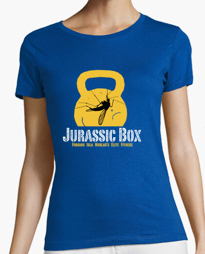 Camiseta JURASSIC BOX dark