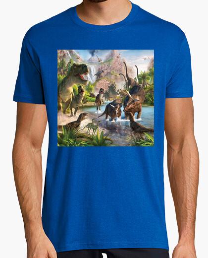 Camiseta Jurassic Dinosaurs