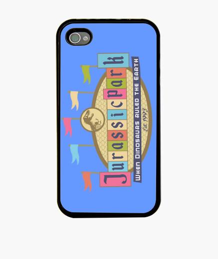 Coque iPhone Jurassic Land