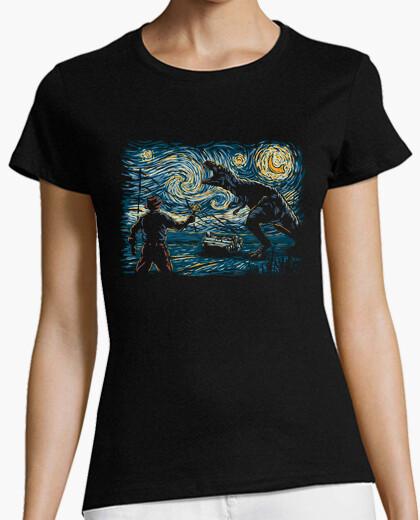 Jurassic night t-shirt