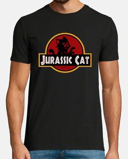 Jurassic Park Cat parodia gato pelicula hombre