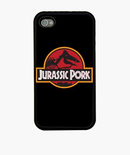 Coque iPhone Jurassic Pork