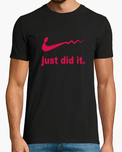 Camiseta Just did it