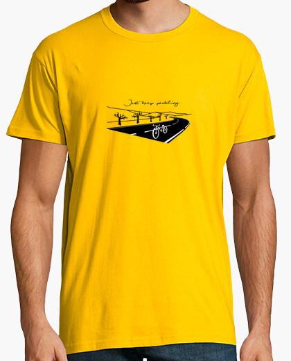 Camiseta Just Keep Pedaling