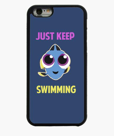Funda iPhone 6 / 6S JUST KEEP SWIMMING