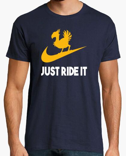 Camiseta Just Ride It