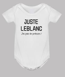 Juste Leblanc - Pas de prénom