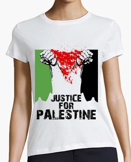 Tee-shirt justice pour la palestine