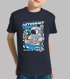 juvenile cartoon astronaut t shirt
