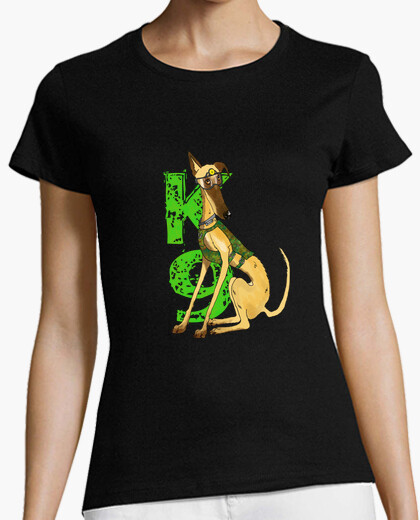K-9 greyhound t-shirt