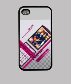 Funda iPhone Carcasa iPhone 4 o 4s Rojo Iron Man Kawaii CDFDIM