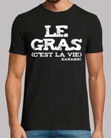 Kaamelot - Le gras, c'est la vie - blanc