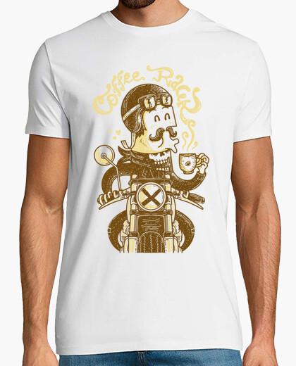 T-Shirt kaffee-rennfahrer