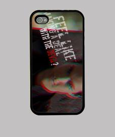 Kai Parker TVD Funda iPhone 4, negra