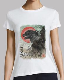 kaiju-e shirt femme