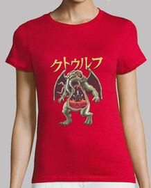 kaiju cthulhu camisa para mujer
