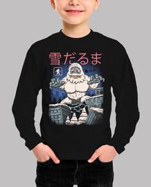 kaiju muñeco de nieve