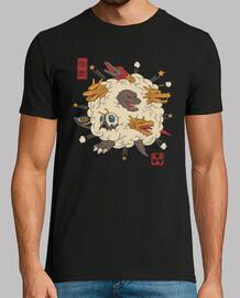 kaiju rumble shirt herren