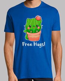 kaktus katze umarmt fre