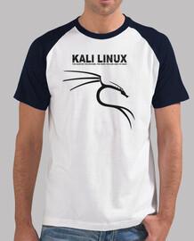 kali linux logo black. black boy shirt sleeves.