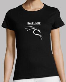 Kali linux logo blanco
