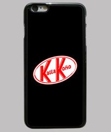KallaKoño Funda iPhone 6 Plus, negra