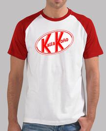 KallaKoño Hombre, estilo béisbol, blanca y roja