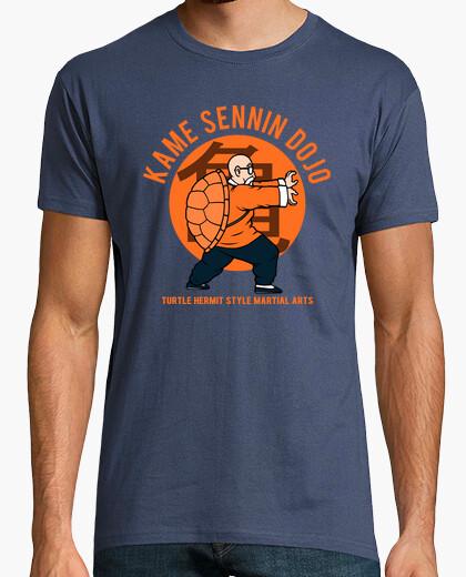 Camiseta kame camisa dojo - hombre gris