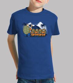 kame ninja kids -kids t-shirt