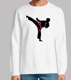 Kampfkunst-Karate-Kick