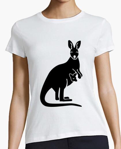 Tee-shirt kangaroo maman bébé