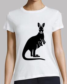 Kangaroo mom baby