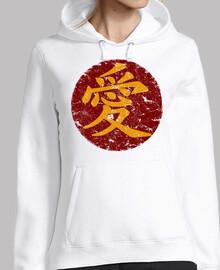kanji ai (amour)