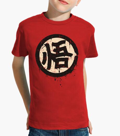 Abbigliamento bambino kanji go (saggezza)