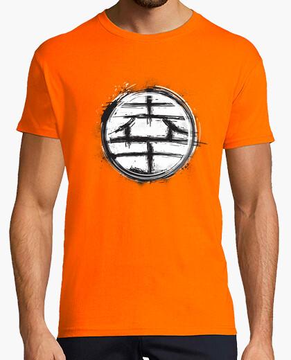 Tee-shirt kanji grunge kaito