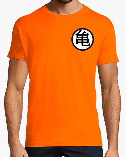 Tee-shirt Kanji KAME (Avant) et Kanji KAIO (Dos)