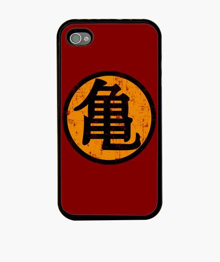 Kanji kame (turtle) iphone cases