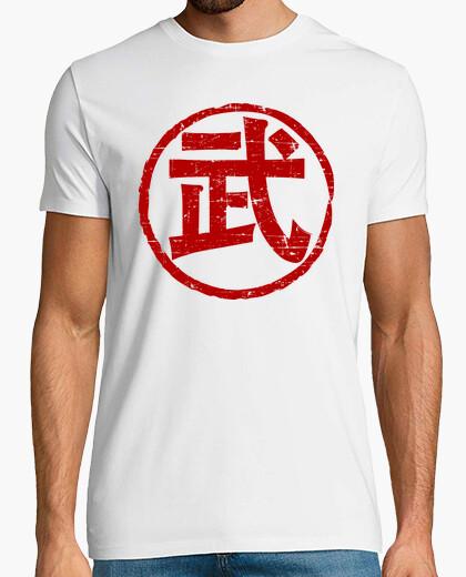 Camiseta Kanji Mu (Guerrero-Arte Marcial)