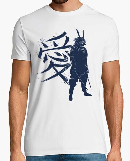 Tee-shirt kanji samurai