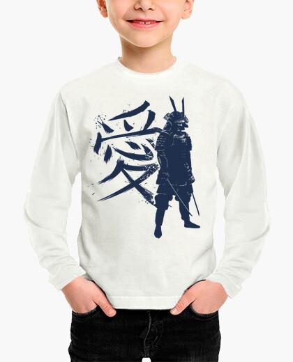 Ropa infantil Kanji Samurai