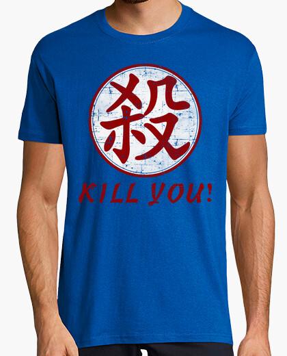 Camiseta Kanji Satsu (Matar-Asesino)